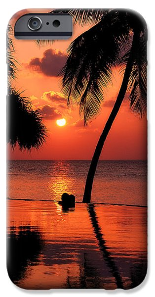 For YOU. Dream Coming True I. Maldives iPhone Case by Jenny Rainbow