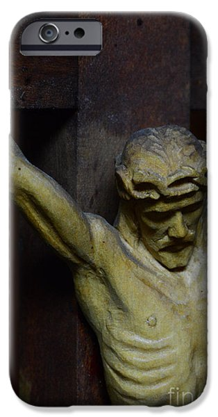 Divine Mercy iPhone Cases - For Your Sins iPhone Case by Paul Ward