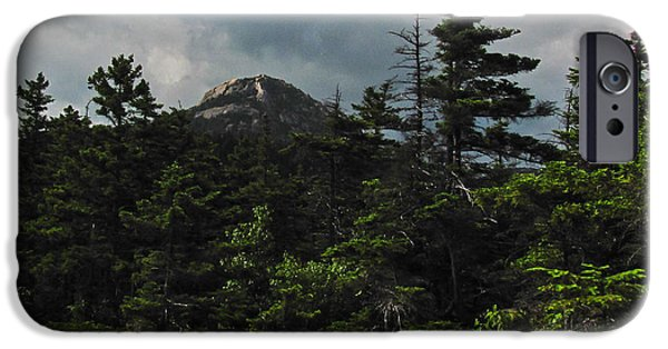 Mt Chocorua iPhone Cases - Forbidden iPhone Case by RockyBranch Dreams