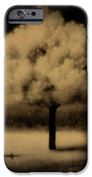 Infrared iPhone Cases - Forbidding Shadows iPhone Case by Gothicolors Donna Snyder