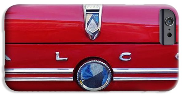 Fury iPhone Cases - Ford Falcon 1 iPhone Case by Mark Lemmon