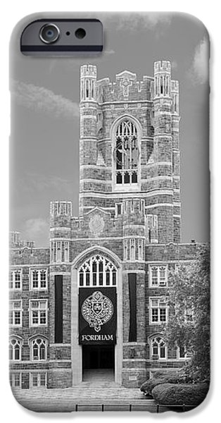 Fordham University Keating Hall iPhone Case by University Icons