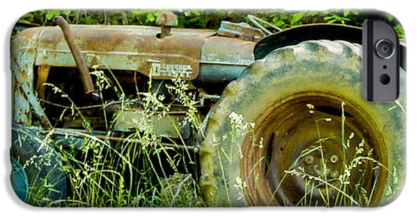 Machinery iPhone Cases - Fordson Major Diesel Two iPhone Case by Robert J Andler