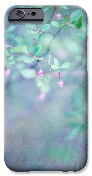 Berry iPhone Cases - Forest bells iPhone Case by Priska Wettstein