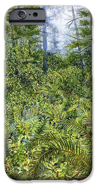 Forest iPhone Cases - Forest iPhone Case by Karen Wright