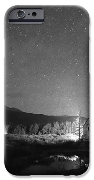 Forest of Stars Above The Chapel on the Rock BW iPhone Case by James BO  Insogna