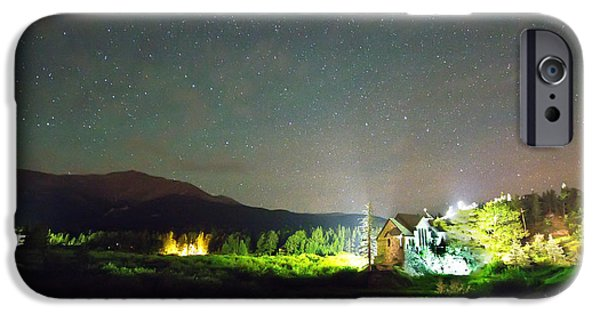 Chapel On The Rock iPhone Cases - Forest of Stars Above The Chapel on the Rock iPhone Case by James BO  Insogna