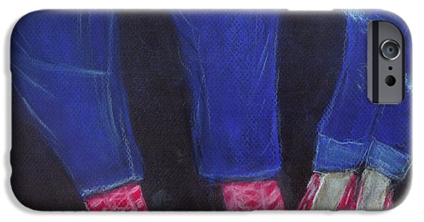 4th July Paintings iPhone Cases - Forever 4th of July iPhone Case by Dink Densmore
