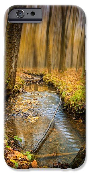 Forever Autumn iPhone Case by Ian Hufton