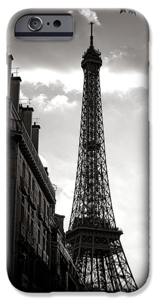 Forever iPhone Cases - Forever Paris  iPhone Case by Olivier Le Queinec