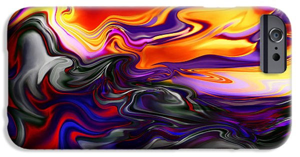 Kyle Wood iPhone Cases - Forged Dilemma Of Uncertain Future iPhone Case by Kyle Wood
