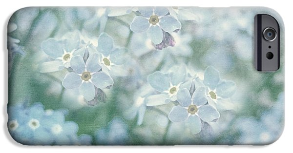 I Am Not iPhone Cases - Forget Me Not Lest You Be Forgotten iPhone Case by Georgiana Romanovna
