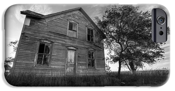 Abandoned House iPhone Cases - Forgotten iPhone Case by Aaron J Groen