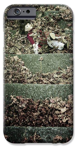 forgotten doll iPhone Case by Joana Kruse