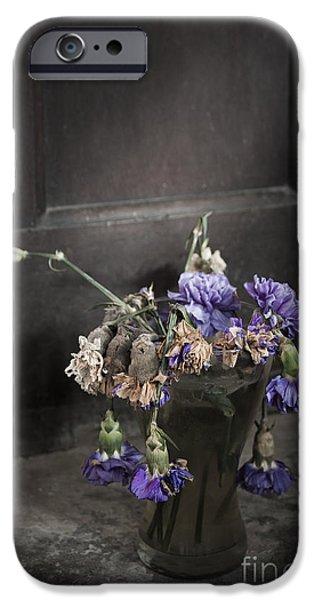 Forgotten Flowers iPhone Case by Svetlana Sewell