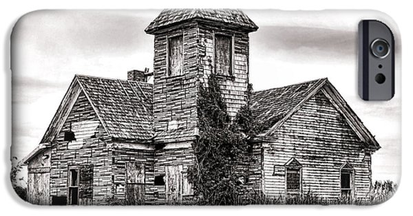 Blight iPhone Cases - Forgotten in South Jersey iPhone Case by Olivier Le Queinec