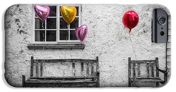 Helium iPhone Cases - Forgotten Romance iPhone Case by Semmick Photo