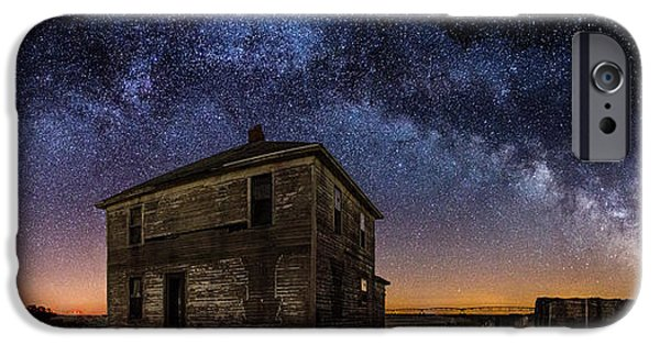 Rift iPhone Cases - Forgotten under the Stars  iPhone Case by Aaron J Groen