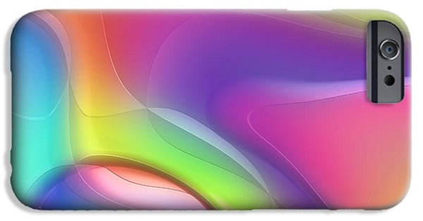 Abstract Forms iPhone Cases - Formes Lascive - 5464 iPhone Case by Variance Collections