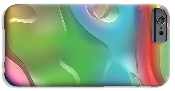 Form iPhone Cases - Formes Lascives - 210 iPhone Case by Variance Collections