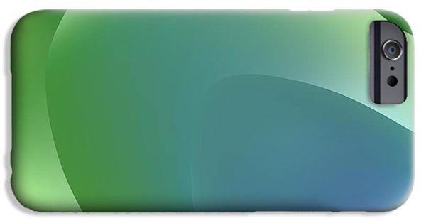 Abstract Forms iPhone Cases - Formes Lascives - 5438 iPhone Case by Variance Collections