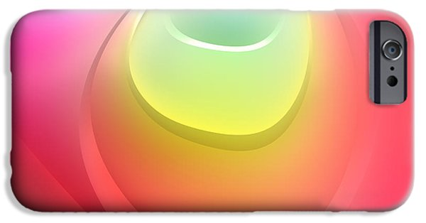 Form iPhone Cases - Formes Lascives - s55c03 iPhone Case by Variance Collections