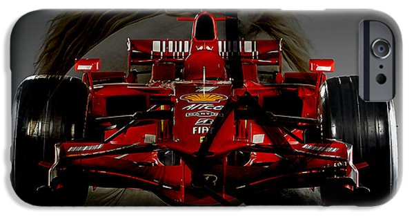 Racing iPhone Cases - Formula One Horse Power iPhone Case by Marvin Blaine