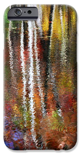 Colorful Abstract iPhone Cases - Forsaken iPhone Case by Christina Rollo