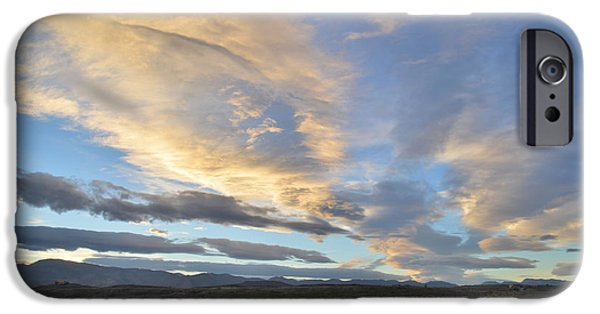 Fort Collins Photographs iPhone Cases - Fort Collins Sunset iPhone Case by Ray Mathis
