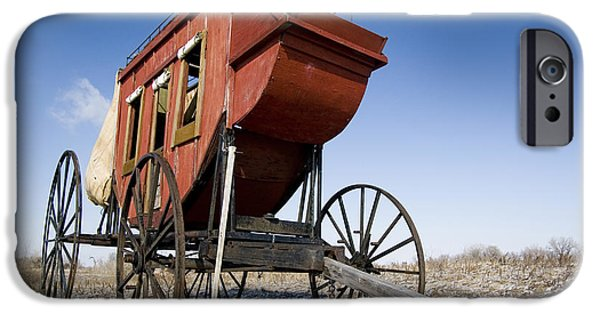 Psi iPhone Cases - fort Kearney Nebraska NE USA iPhone Case by Ohad Shahar