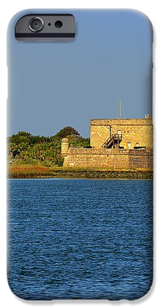 Fort Matanzas - Saint Augustine Florida iPhone Case by Christine Till