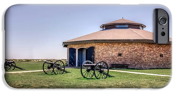 Admiral Digital iPhone Cases - Fort Morgan State Park iPhone Case by Rob Sellers