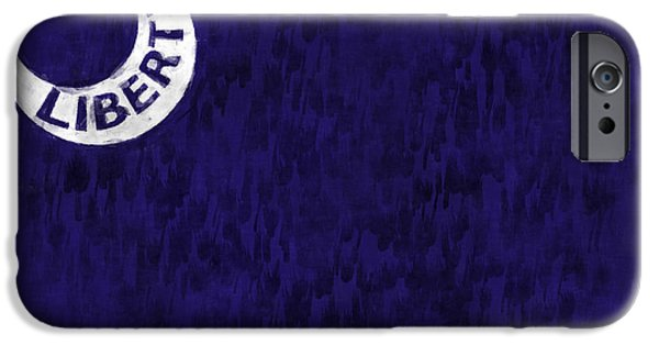 American Revolution Digital Art iPhone Cases - Fort Moultrie Flag iPhone Case by World Art Prints And Designs