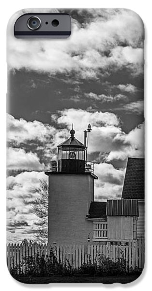 Fort Point Lighthouse iPhone Case by Robert Clifford