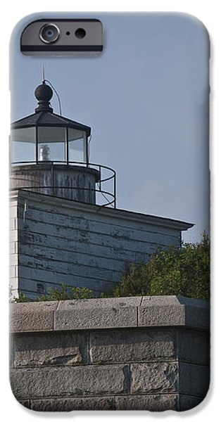 Fort Taber Lighthouse iPhone Case by David Gordon