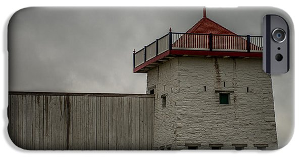 Historic Site iPhone Cases - Fort Union Block House iPhone Case by Paul Freidlund