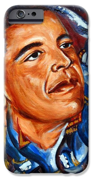 Best Sellers -  - President Obama iPhone Cases - Forward iPhone Case by Harsh Malik