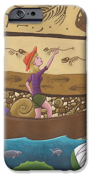 Fossils iPhone Case by Christy Beckwith