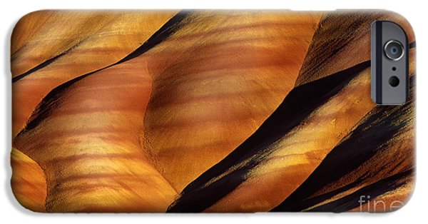 Otherworldly iPhone Cases - Fossilscape iPhone Case by Inge Johnsson