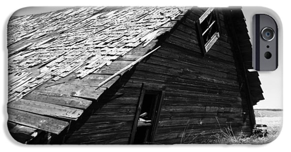 Old Barn iPhone Cases - Foundation First  iPhone Case by Jerry Cordeiro