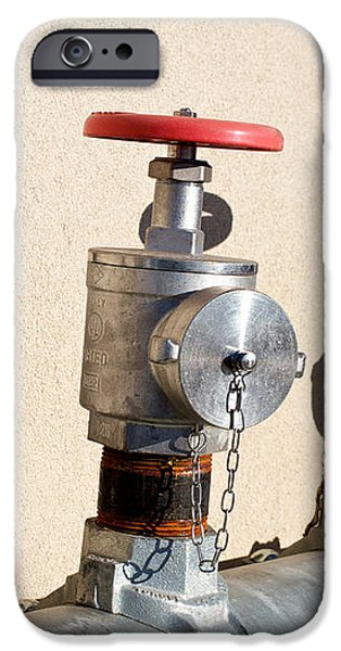 Four Emergency Water Valves iPhone Case by Trever Miller