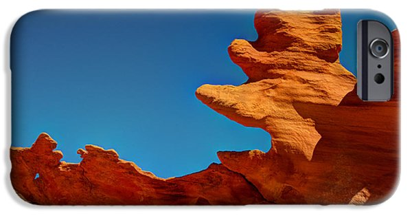 Little iPhone Cases - Four Fingered Jack iPhone Case by Bob Christopher