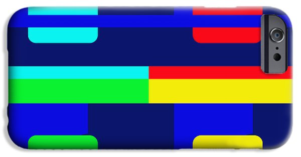 Multimedia iPhone Cases - Four Windows iPhone Case by Tina M Wenger