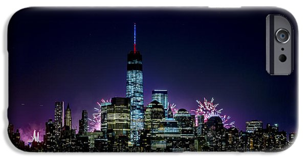 4th July Photographs iPhone Cases - Fourth of July 2014 iPhone Case by D Plinth