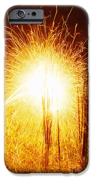 Fourth Of July iPhone Cases - Fourth Of July iPhone Case by Jim Corwin