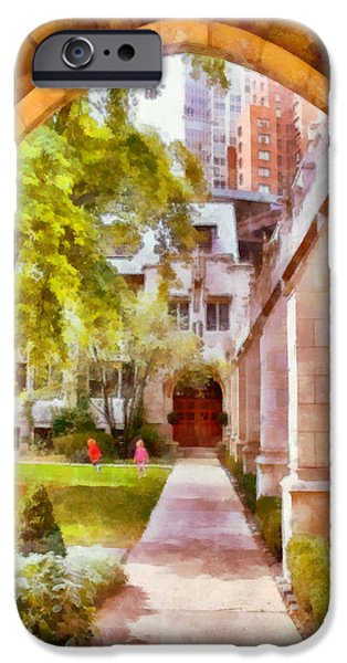 Pcusa iPhone Cases - Fourth Presbyterian - A Chicago sanctuary iPhone Case by Christine Till