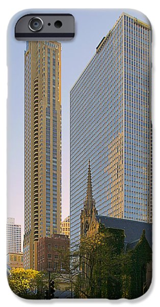 Fourth Presbyterian Church Chicago iPhone Case by Christine Till