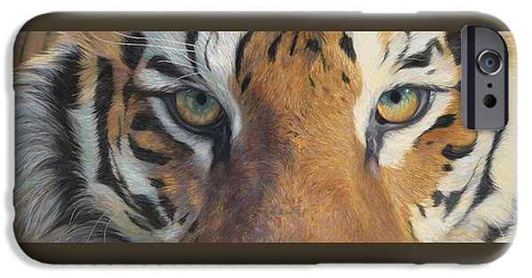 Close Paintings iPhone Cases - Forever Wild iPhone Case by Lucie Bilodeau