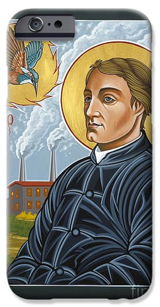 Fr. Gerard Manley Hopkins The Poet's Poet iPhone Case by William Hart McNichols
