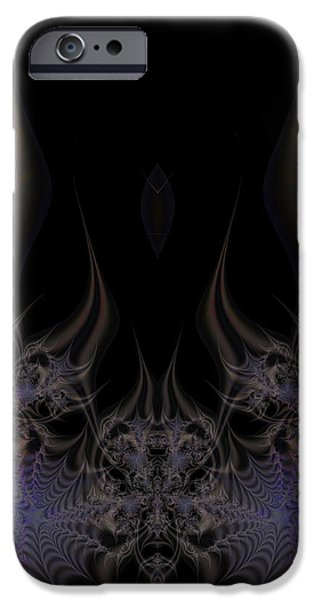 Fractal 00052 iPhone Case by George Cuda